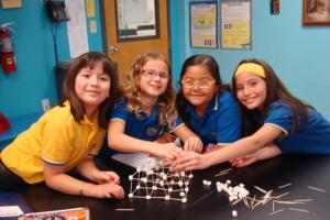 3rd Science 2014 - 4 girls